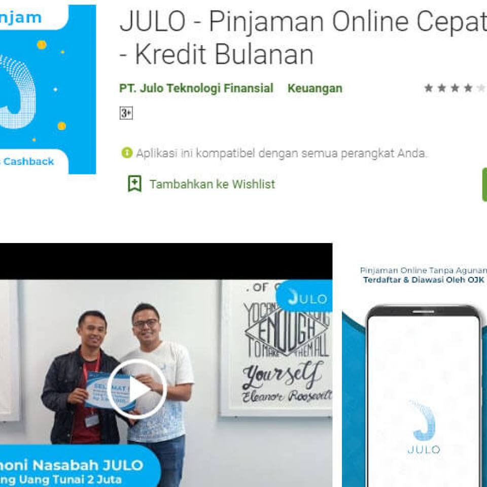 julo pinjaman online langsung cair tanpa ribet