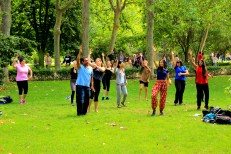 Bollywood dance classes at Retiro Park!