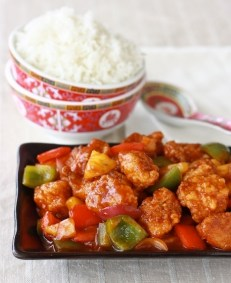 Sweet & Spicy Chicken, Chinese Style