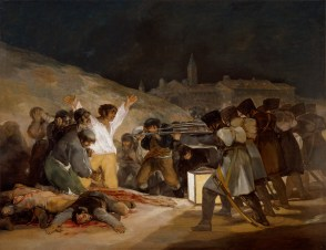 """The Executions"" by Francisco de Goya, Prado Museum"