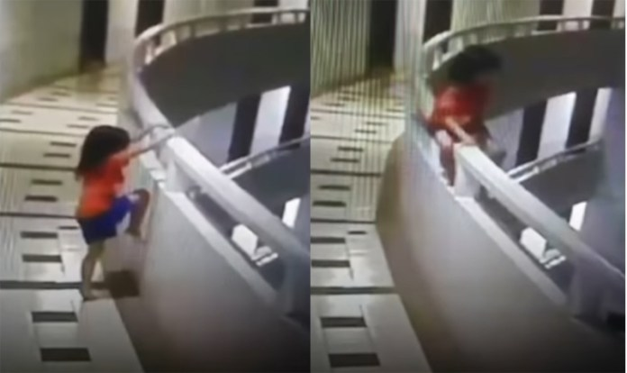 Girl survives fall from 11th floor hotel balcony while sleepwalking in Thailand