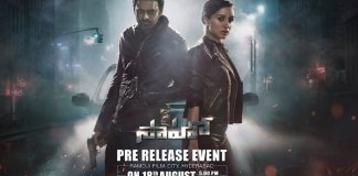 saaho pre release event venue time fixed