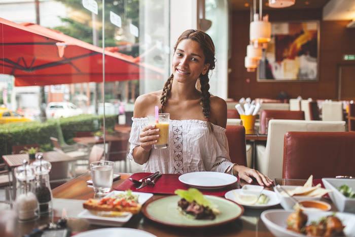 lunch at the mariott bangkok