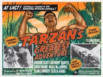 Tarzan poster Greatest Adventure