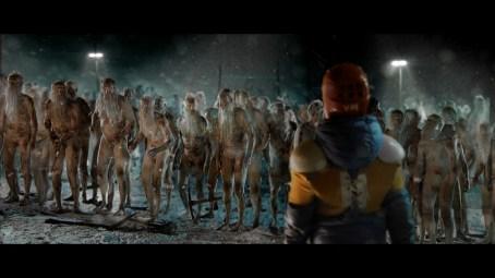A herd of Santas