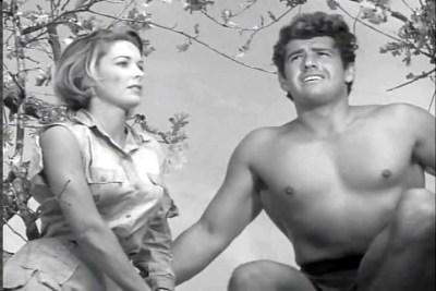 Gordon Scott & Vera Miles