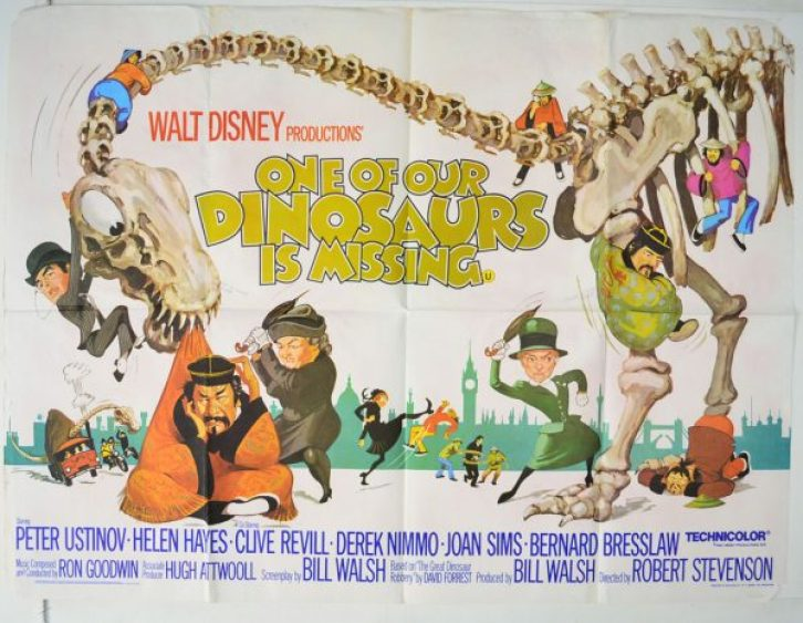 Image result for one of our dinosaurs is missing (1975)