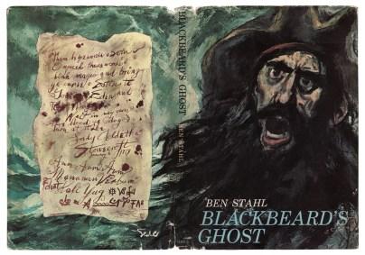 Blackbeard's ghost book cover