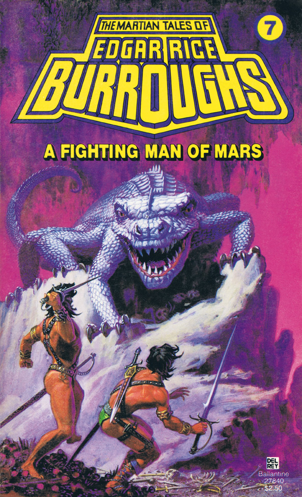 A Fighting Man of Mars: Edgar Rice Burroughs – Book Review ...