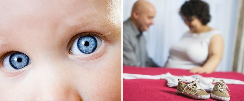 Bērna acu krāsa: vai ir iespējams paredzēt?