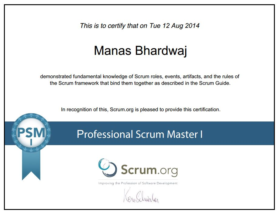 How To Pass Professional Scrum Master Psm I Certification