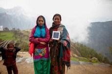 solar lights in nepal gorkha