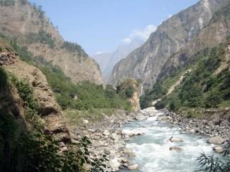 Budi Gandaki River, Machhakhola, Gorkha