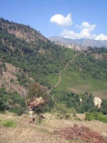 Trail from Lapu to Lapsibot