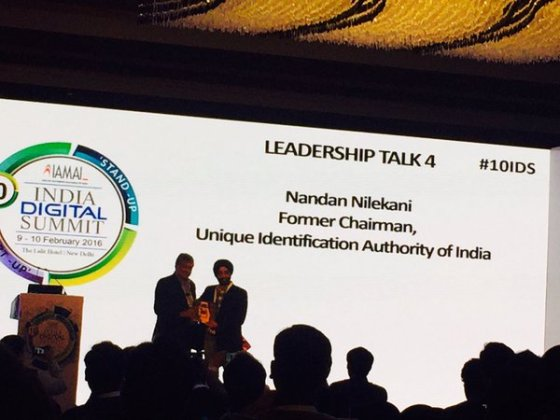Nandan Nilekani at 10th IDS