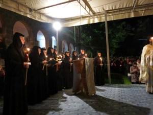 Invierea la Manastirea Techirghiol