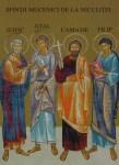 Acatistul Sfinţilor Mucenici de la Niculiţel: Zotic, Atal, Kamasie şi Filip