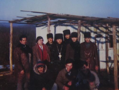 Monahii impreuna cu Nicolae Dabija (1995)