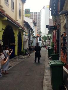 Haji Lane - the narrowest street in Singapore (no cars allowed!)