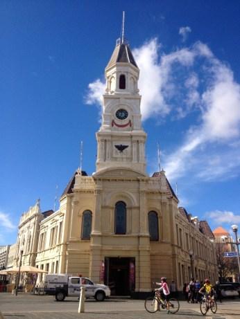Blue skies in Fremantle