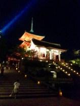 Kiyomizudera at night