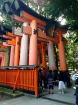 Massive Torii near the entrance