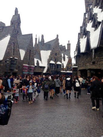 Hogsmead (the snow's fake!)