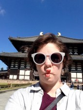 Being cultured at Todaiji