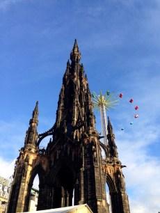 The Scots Monument, my favorite building in Edinburgh