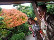 Dressed up in kimono with Mei (photo by Eddy)
