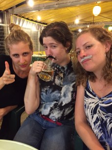 A beautifully mustachio'd group