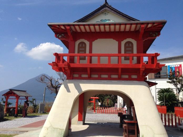 Ryugu Shrine at Cape Nagasakibana