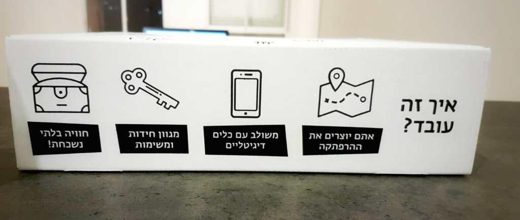 איך זה עובד בקופסת הבריחה של YOUDO
