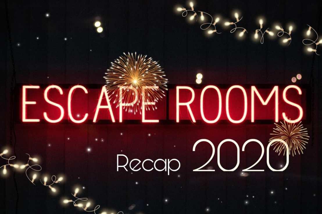 סיכום שנת 2020 בחדרי בריחה