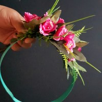 How to make Cook Island 'ei katu (flower crown or head garland)