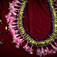 The art of making candy lei - Tongan style!