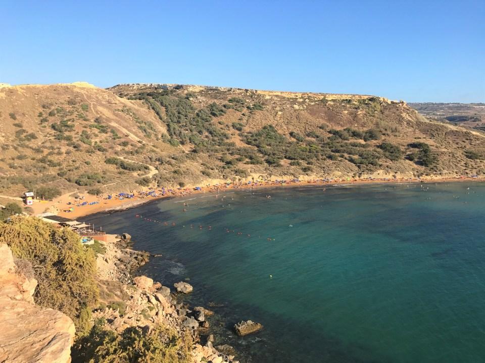 Malte - Għajn Tuffieħa