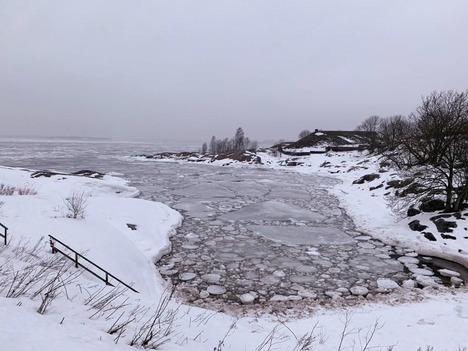 Suomenlinna - plage