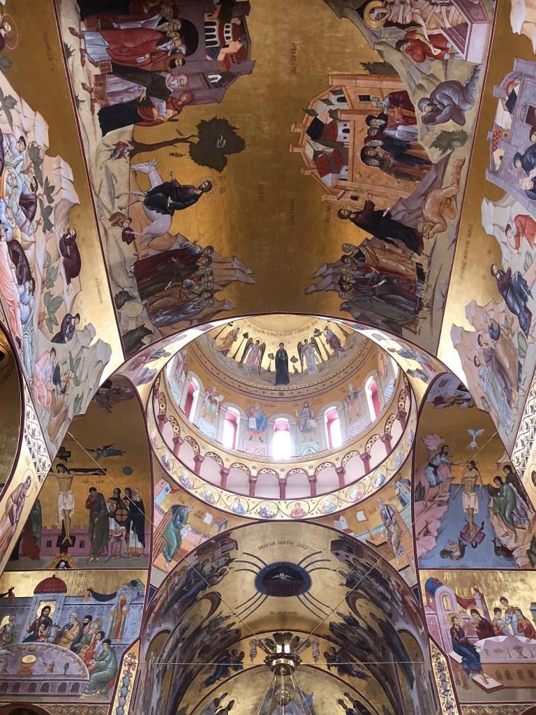 Podgorica - Cathédrale de la résurrection du Christ