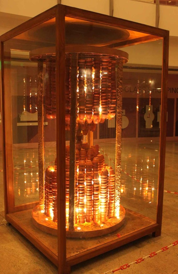 Manav Gupta, Time Machine, Installation, gupta installations, installations, manav gupta