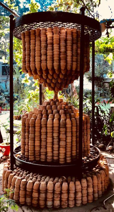 Manav Gupta, Clay, Time Machine, Time, Love, Public art, Global, modern art, installations