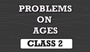 problems on ages tricks