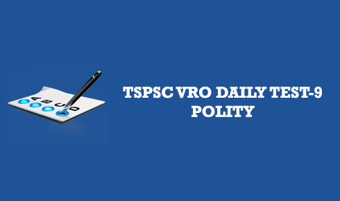 TSPSC VRO DAILY TEST 9