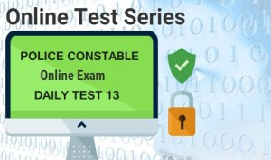 POLICE CONSTABLE DAILY TEST 13