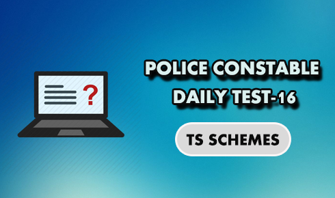 TS Police constable daily test 16