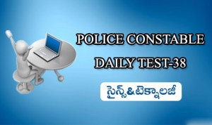 POLICE CONSTABLE DAILY TEST-38