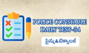 POLICE CONSTABLE DAILY TEST-54