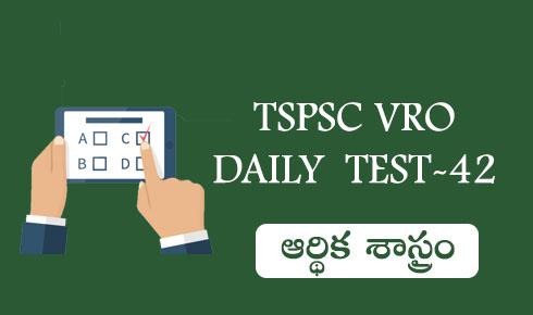 TSPSC VRO DAILY TEST-42