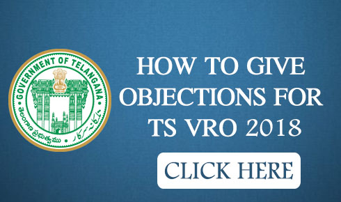 HOW TO GIVE OBJECTIONS FOR TS VRO 2018