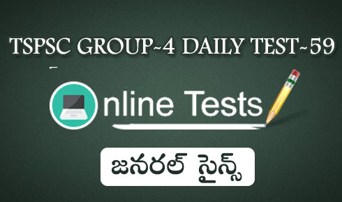 TSPSC GROUP-4 DAILY TEST-59